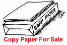 Copy Paper for Sale